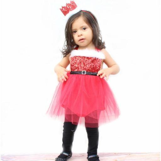 20806c8768938 Santa Baby Romper Costume Velvet Santa Suit for Girls made by Belle Threads