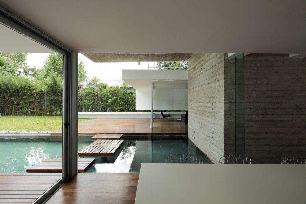 Estudio botteri connell beton zwembad argentienie zwembad