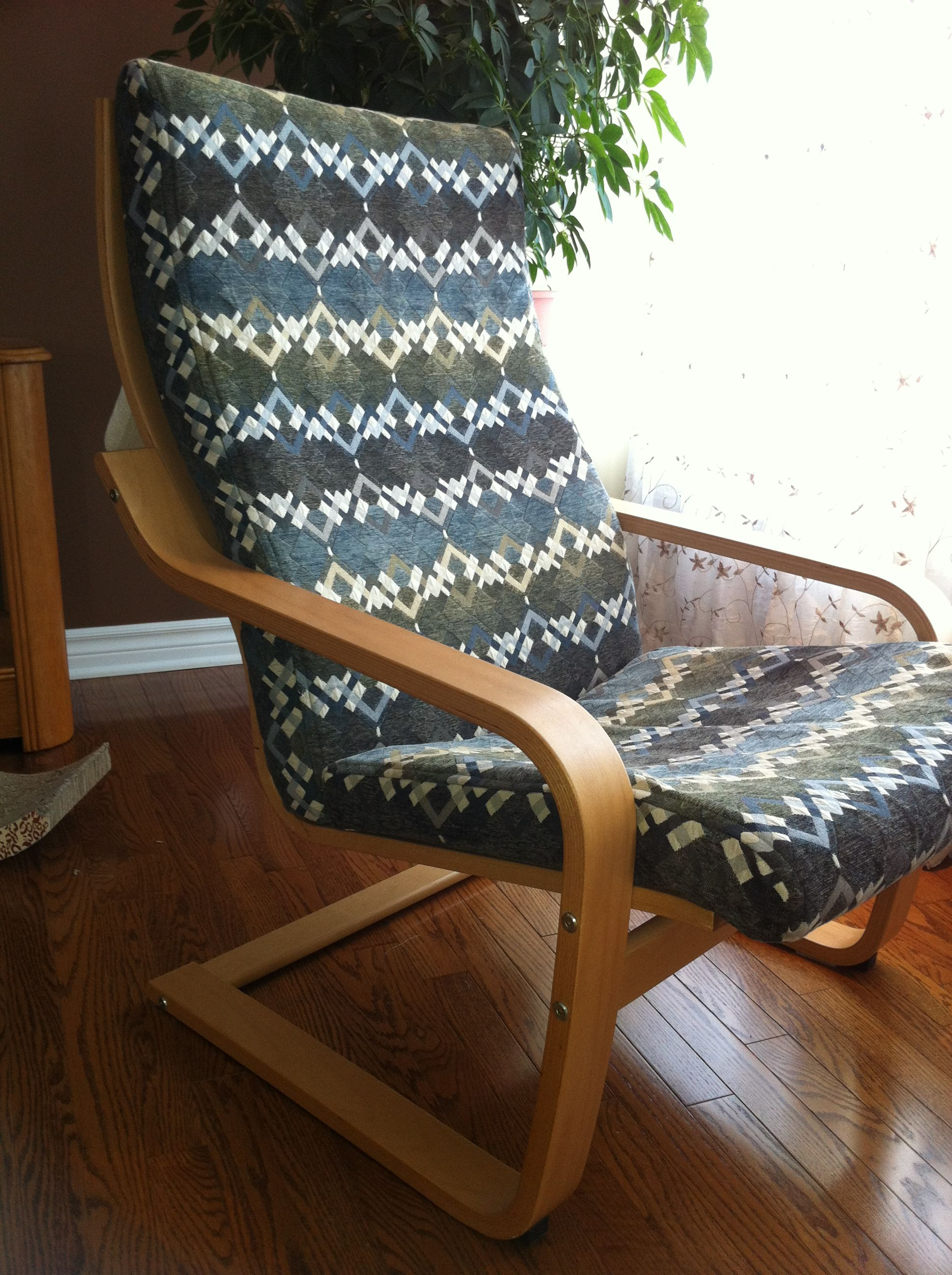ikea poang chair covers uk fishing brolly clamp cover diy pinterest tutorial cushions cushion