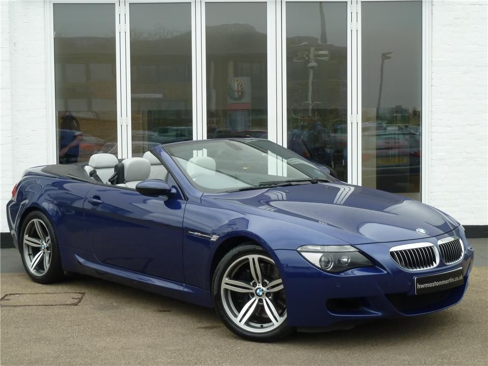 Used BMW M6 Buy used BMW M6 in beautiful Interlagos Blue colour. As ...