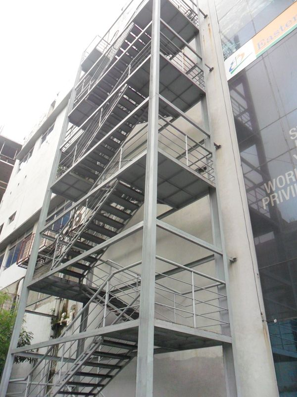 Image Result For Fire Stairs Exit Stair Plan Steel Stairs Stairs   Steel Fire Escape Stairs   Architectural   Internal   Industrial   Emergency   Fire Exit