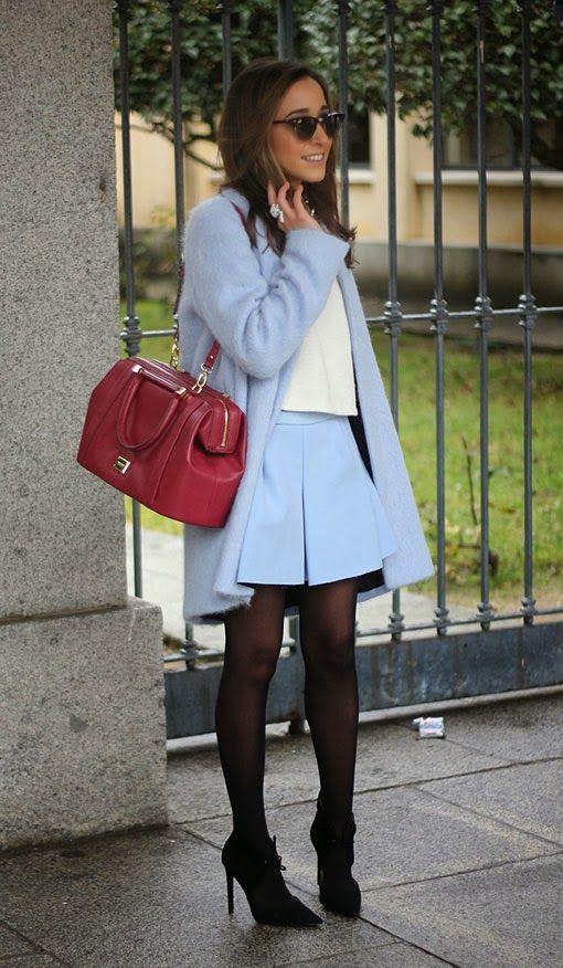 Zara skirt: Así la llevan ellas...