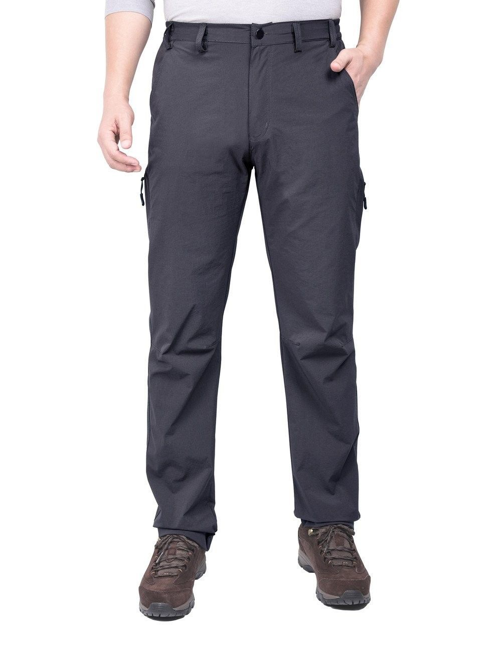 Men's Soft Breathable Belted Quick Dry Water Resistent Cargo Pants -   Gray  - C5184UAOHD0   #ActivePants #Men's #Clothing # #Active # #Active #Pants