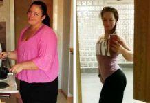 El increíble cambio de una mujer que bajó 80 kilos y se terminó casando con su personal trainer