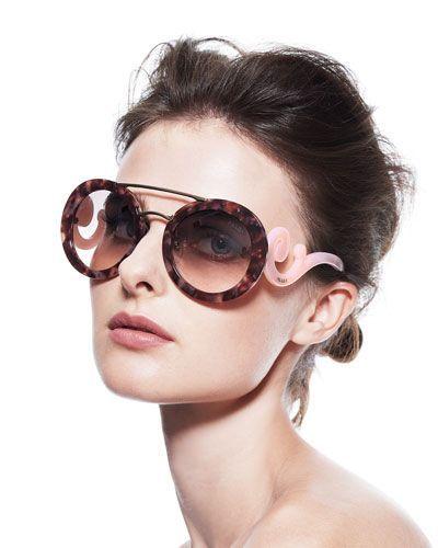 da58237f5b72 Prada Baroque Sunglasses  prada  sunglasses - Sale! Up to 75% OFF! Shot at  Stylizio for women s and men s designer handbags
