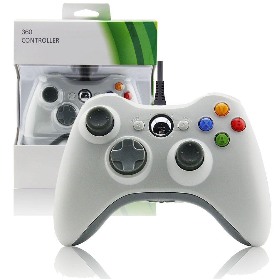 Xbox 360 Slim Wired Controller (white) XBOX 360 Fat Joypad | XBOX ...