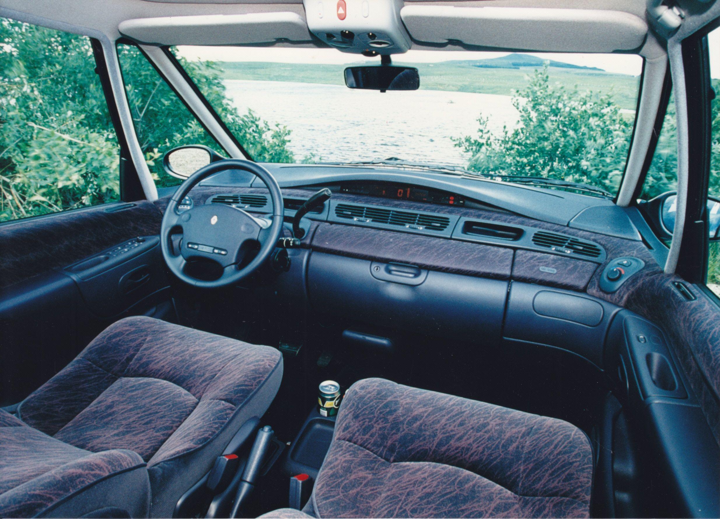Renault Espace Interior Dashboard