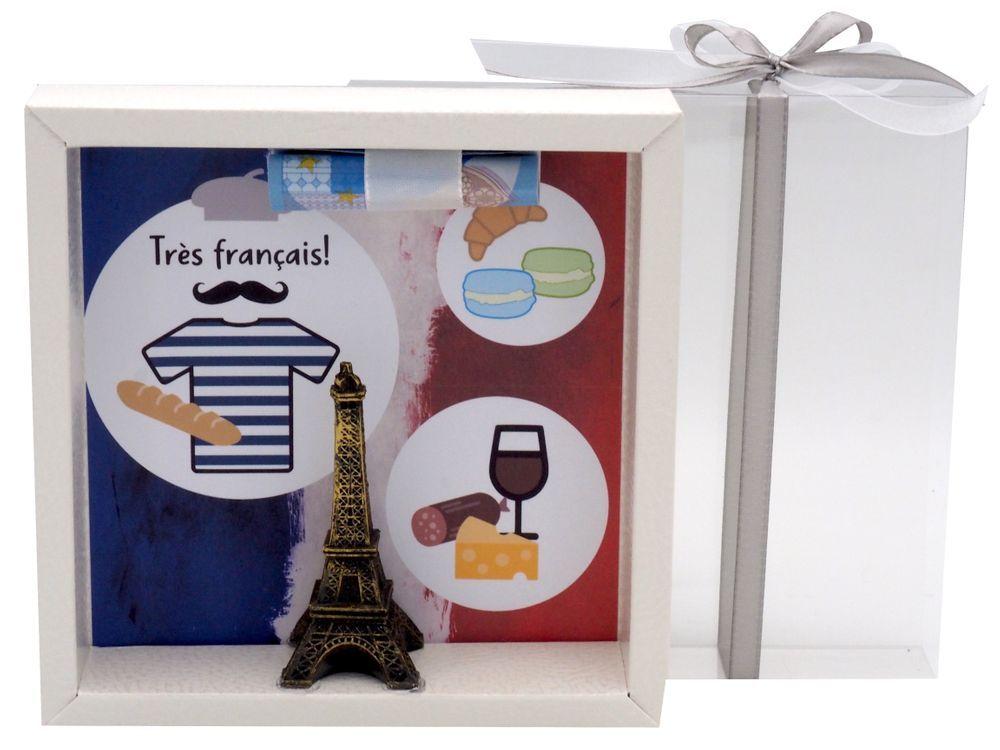 Geldgeschenk Verpackung Frankreich Paris Urlaub Reise