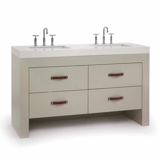 Waterfall Double Take Vanity 0102 Bath From Home Stone
