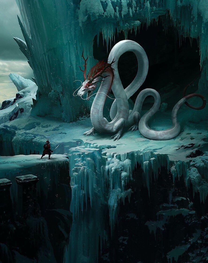 Serpent Guardian   aq   Pinterest   Criatura, Dragones y Fantasía