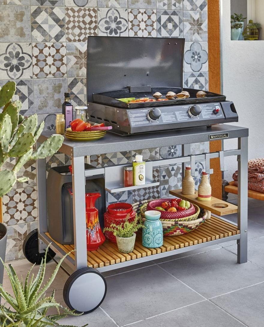 20 modèles de cuisines d'extérieur abordables   Diaporama Photo