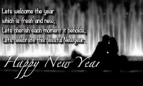 Happy New Year For Wife