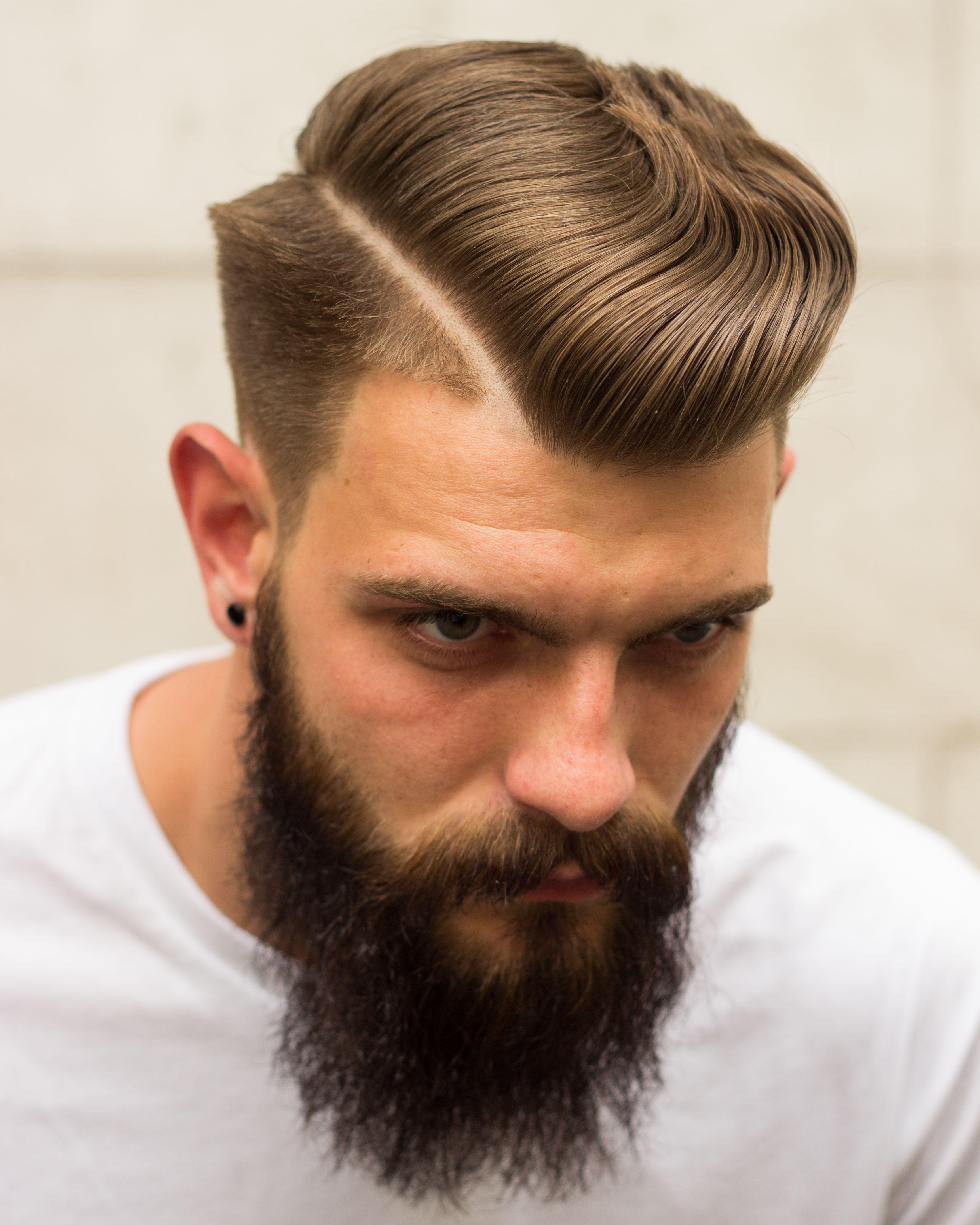 Stupendous Hard Part And Beards On Pinterest Short Hairstyles Gunalazisus