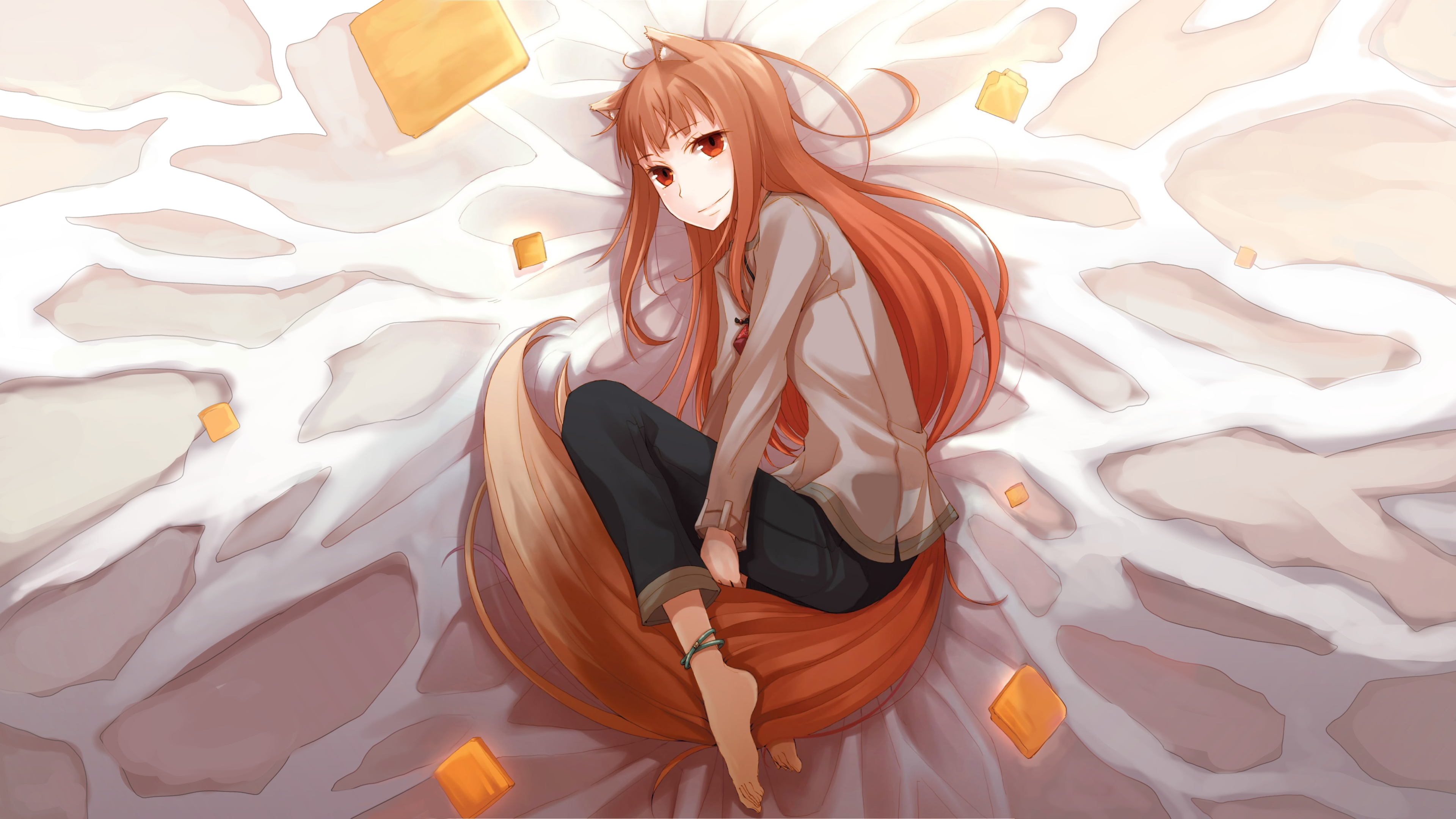 The Wise Wolf Spice And Wolf 4k Manga Anime