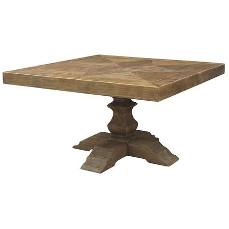 English Castle Trestle Square Table For The Home Pinterest - Square trestle dining table