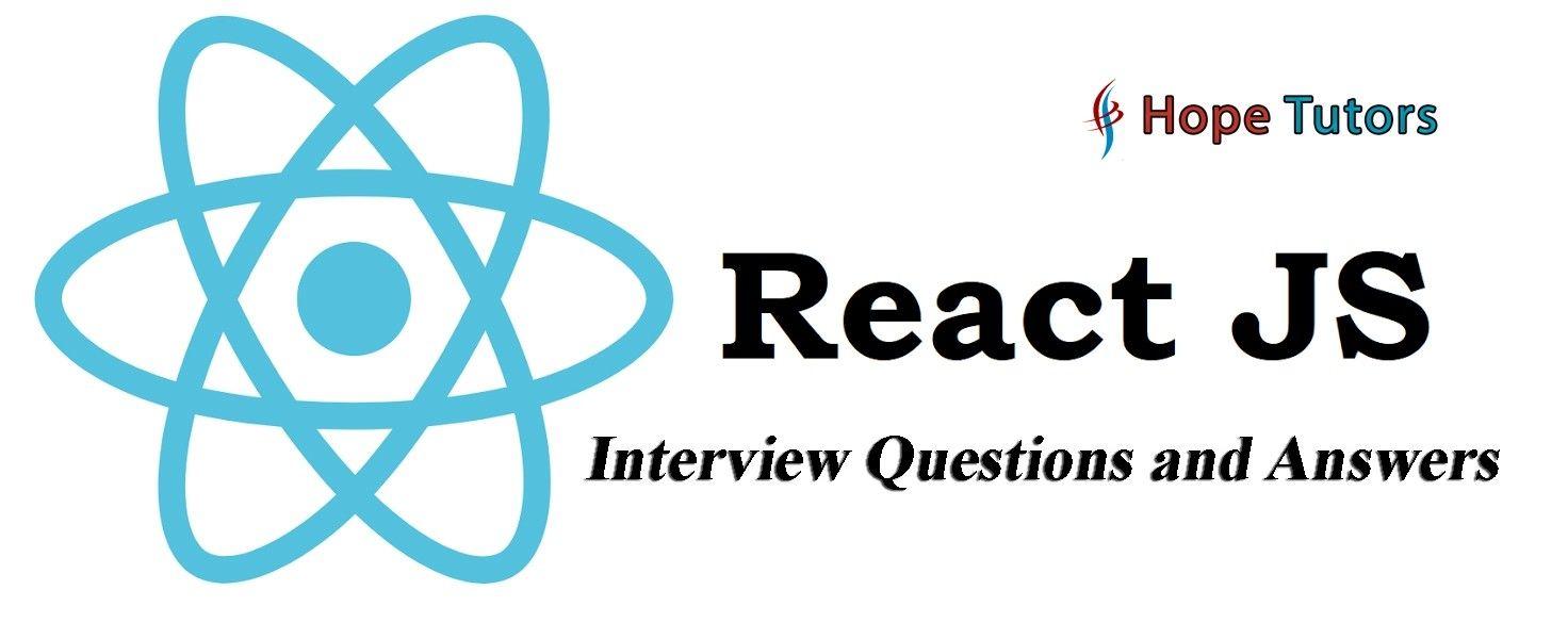 React JS Interview Questions & Answers #reactjs #javascript #nodejs