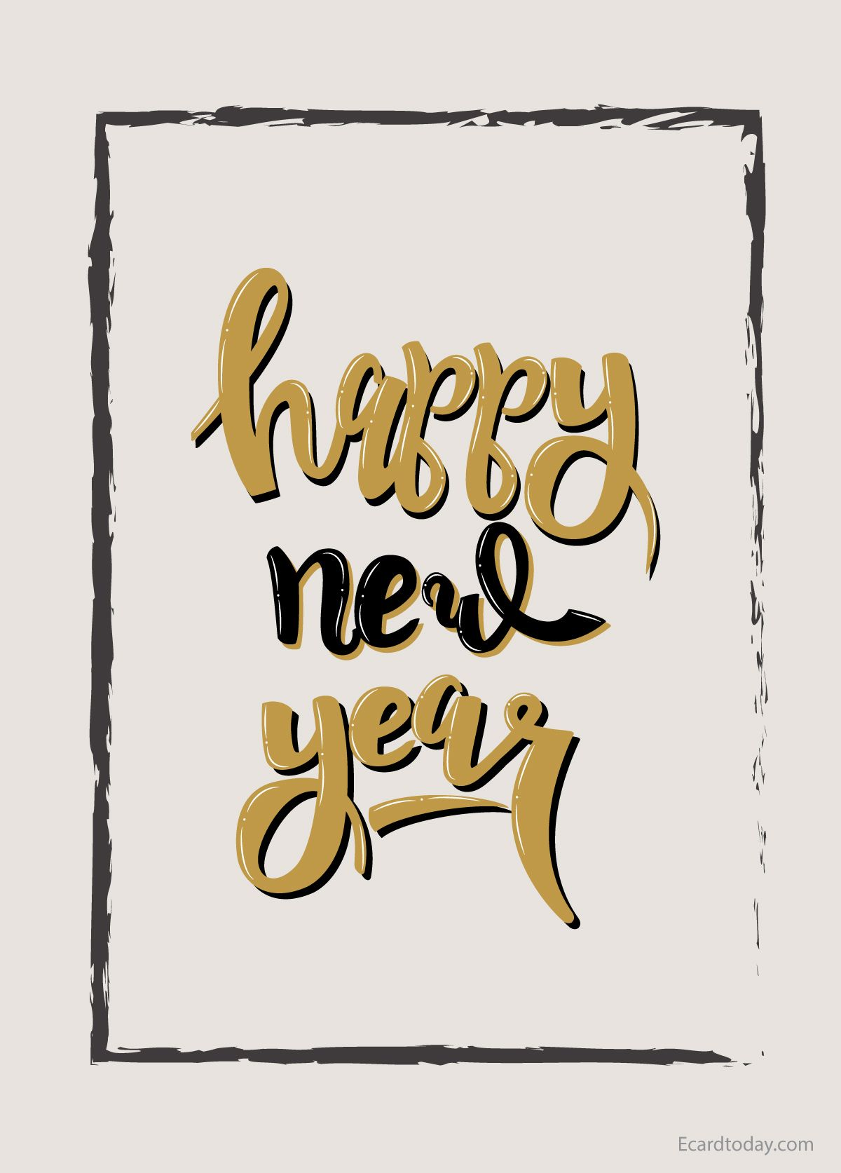 Best Happy New Year Images 2020 ECard Today in 2020