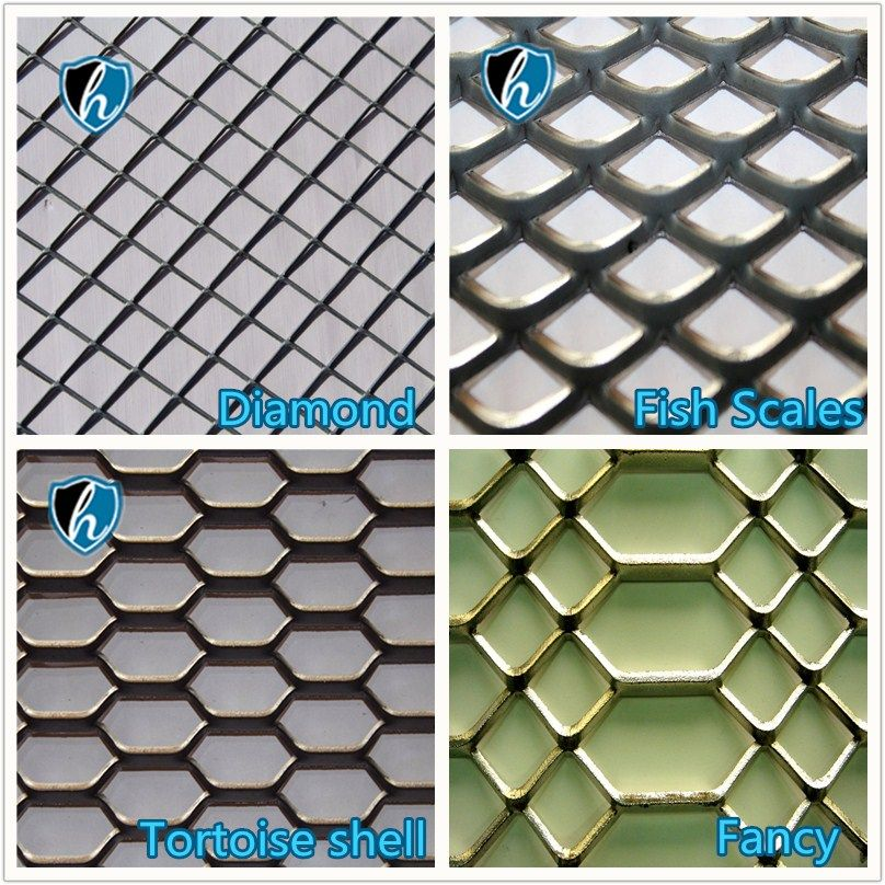 Style Of Expanded Metal Sheet