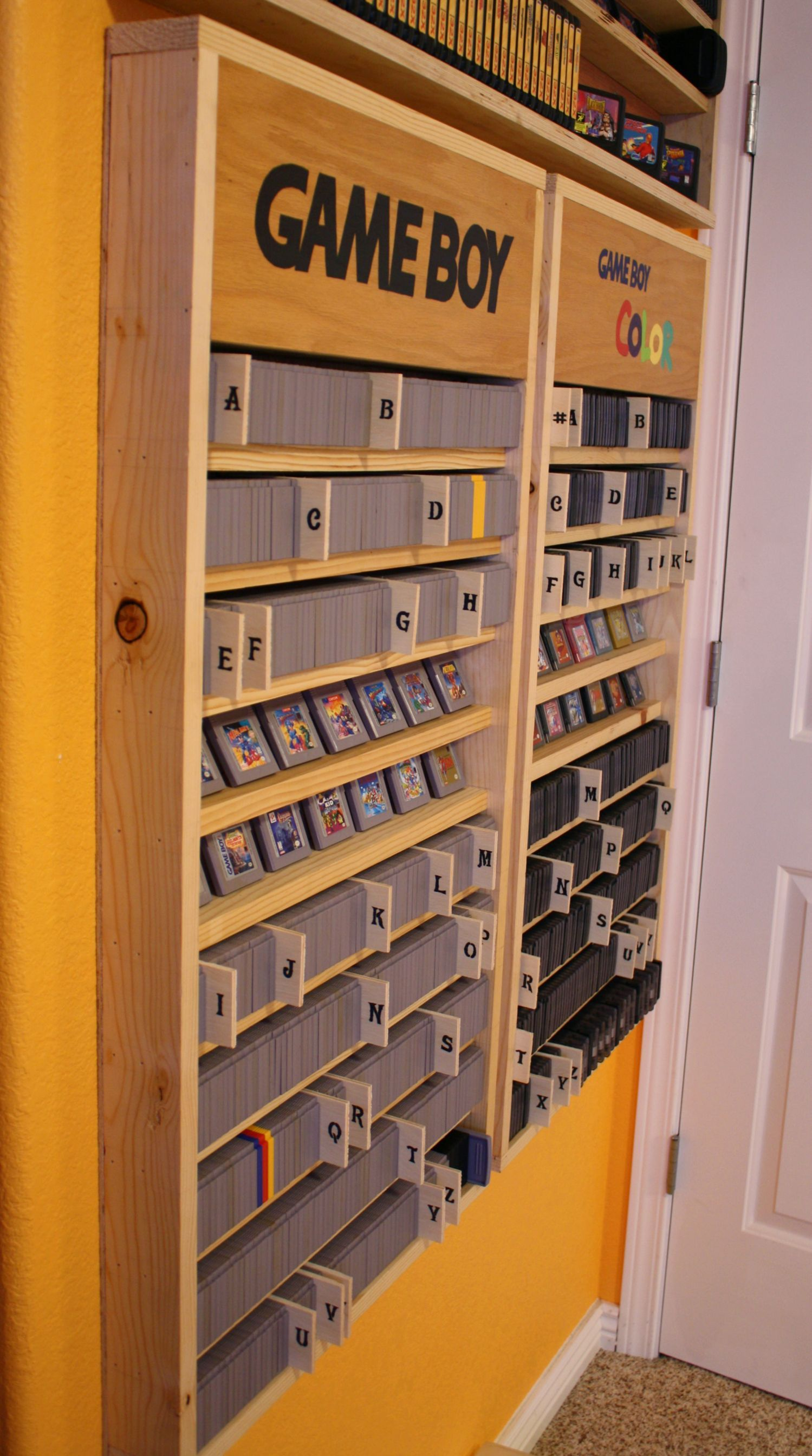 Blue apron alternatives reddit - Alphabetical Retro Game Organization Nintendo Game Boy And Gb Color Shelves Via Reddit User