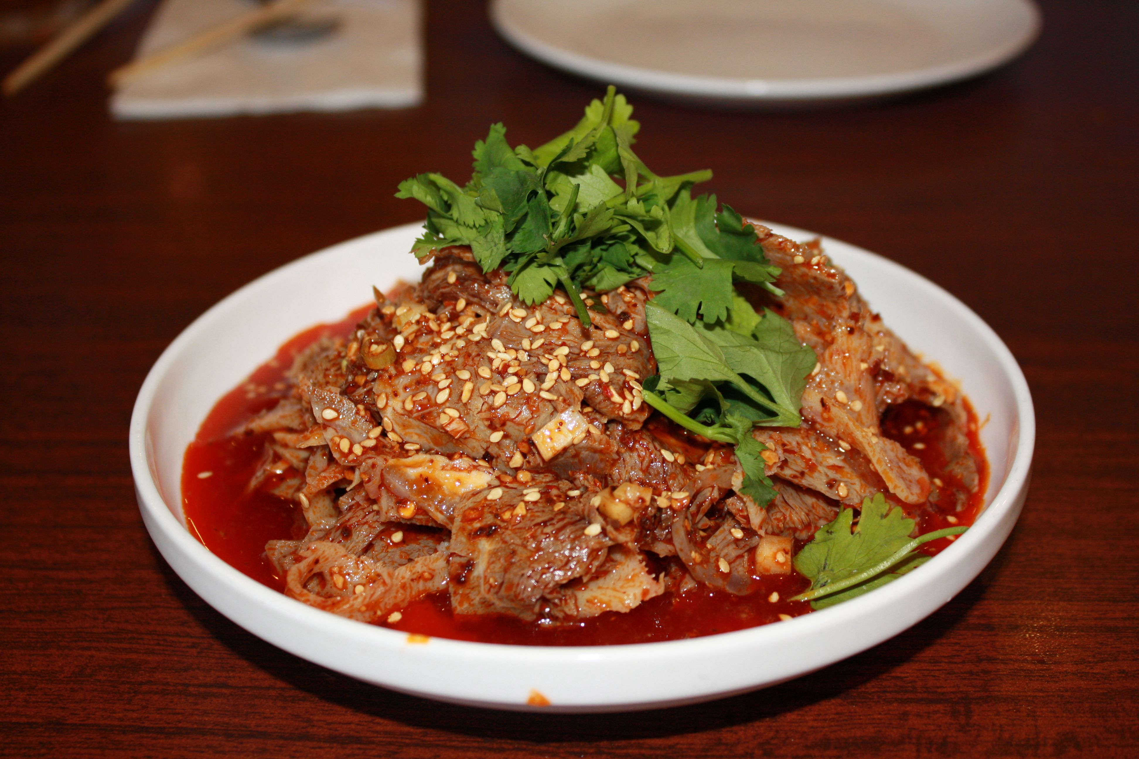 Image result for ox tongue in chilli sauce