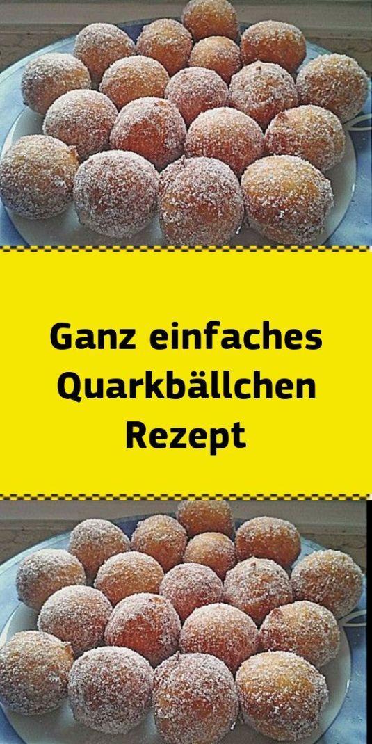 Ganz einfaches Quarkbällchen Rezept - Natur - Mode - Reise Leidenschaft - Handwerk #kuchenkekse