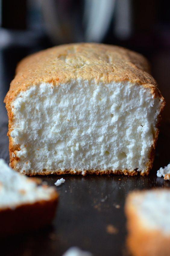 Easy Vanilla Bean-Orange Angel Food Cake | Always Order Dessert