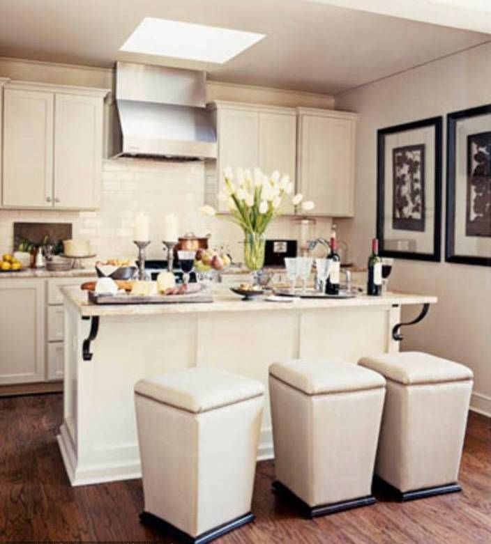 Modern Shabby Chic Kitchen | A man's home is his wife's ...