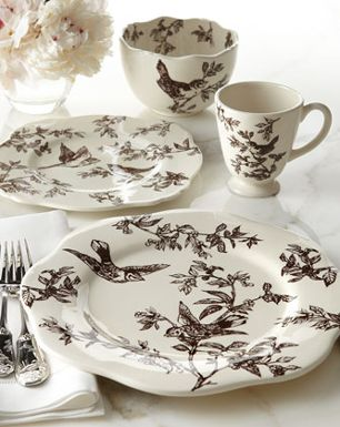 Black and White bird dishes & Black and White bird dishes | Dishes Glasses Etc. | Pinterest ...