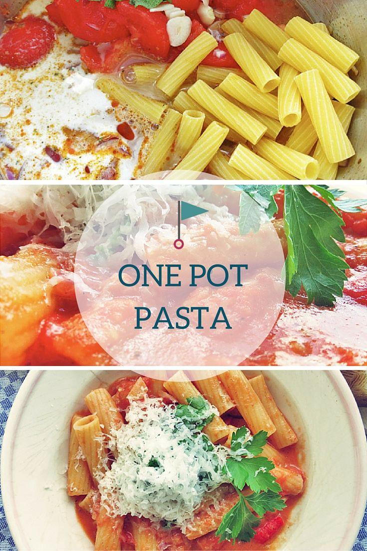 One-Pot-Pasta – Die geniale Lösung für spülfaule Smutjes   Pot pasta ...