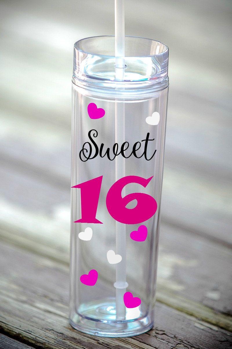 16th birthday gift for girls sweet 16 birthday skinny