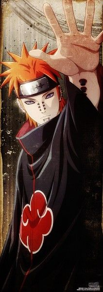 Pain has got to be my favorite Akatsuki member and person Naruto has faced. Pain.. his voice.. his motives.. the way he spoke of pain..