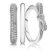 anello fiocco pandora