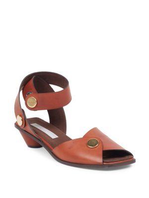Stella mc cartney Leather Sandal v3x8CK