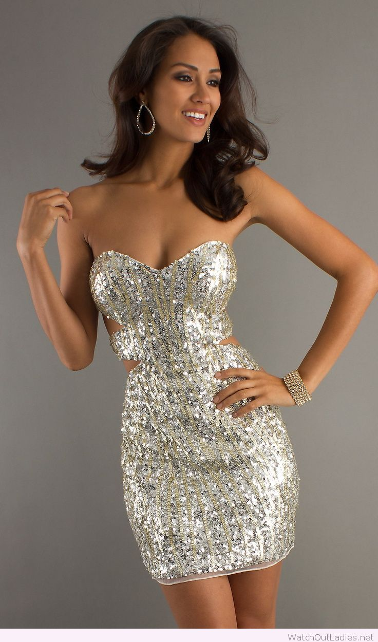 Perfect glitter dress design for party | watchoutladies.net ...