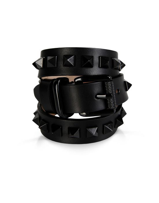 Women's Bracelet Barbara Bui Leather studded bracelet - Official Online Store United States