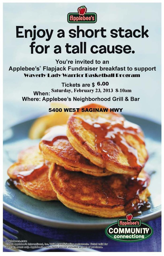 lady warrior basketball fundraiser at applebee u0026 39 s