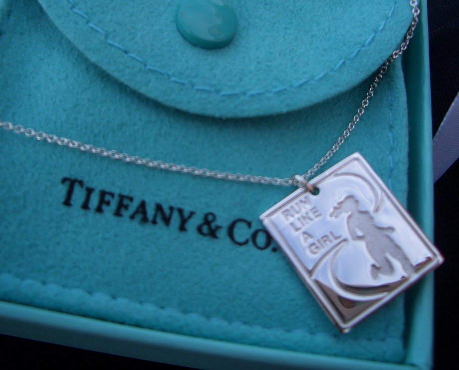 2af8ba47a Nike half marathon finisher's necklace from Tiffany & Co: I WANT ...