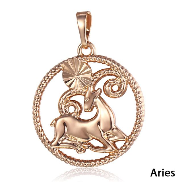 Fashion Necklaces Constellations Pendants For Women Men Rose Gold Jewelry Gifts