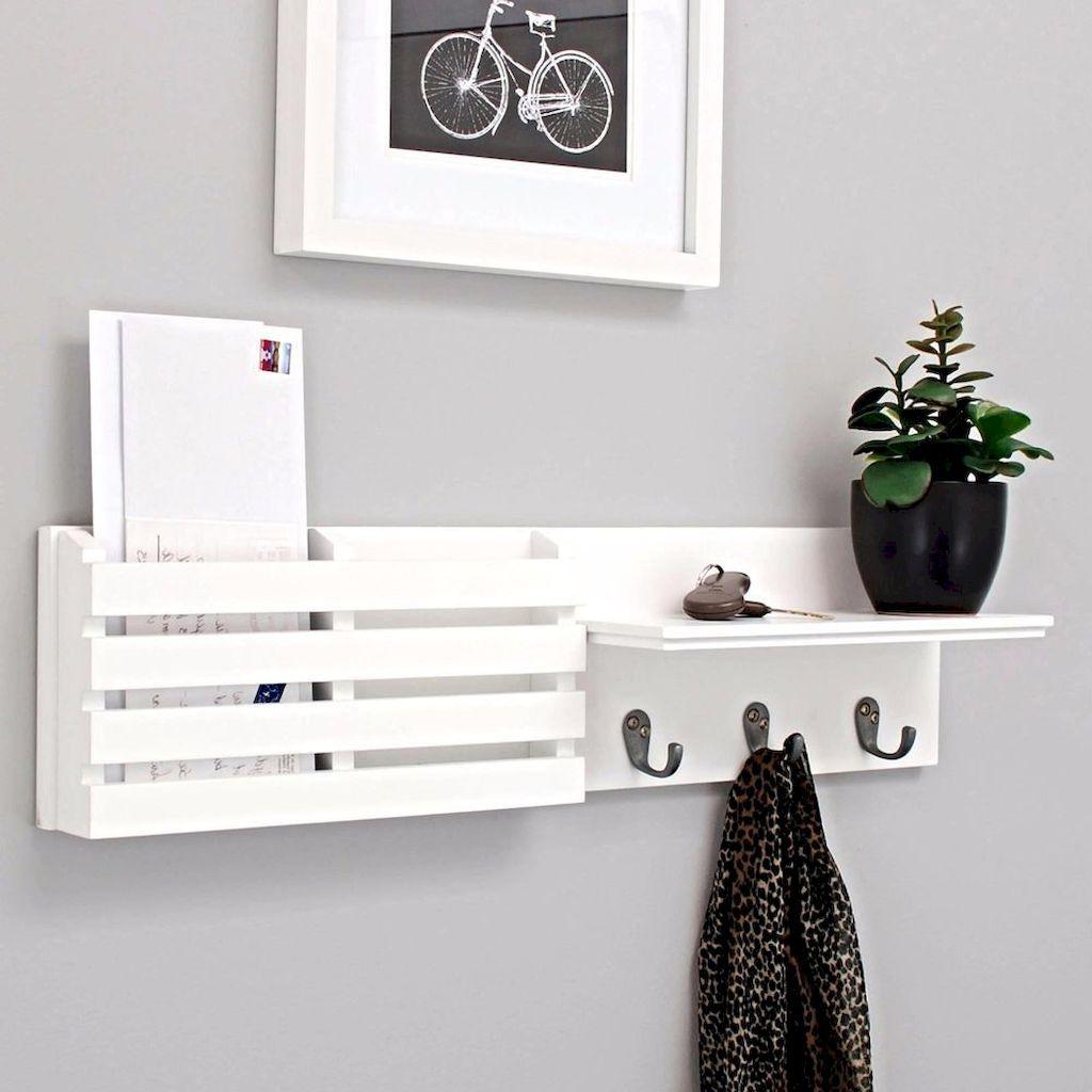 45 Diy Creative Key Holder For Wall Decor Ideas Diy Wall Decor Key Holder Diy Wall Key Holder