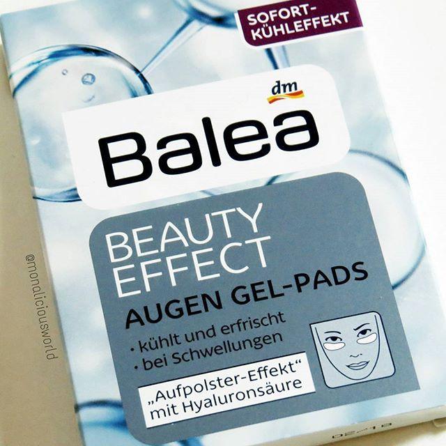 Guten Morgen  Ich werde mal heute diese Augen Gel Pads von @dm_balea ausprobieren . Die durften aus meinem letzten @dm_deutschland Besuch mit. Und noch einige Sachen, die aufgebraucht waren. Hat jemand schon diese Pads getestet?
