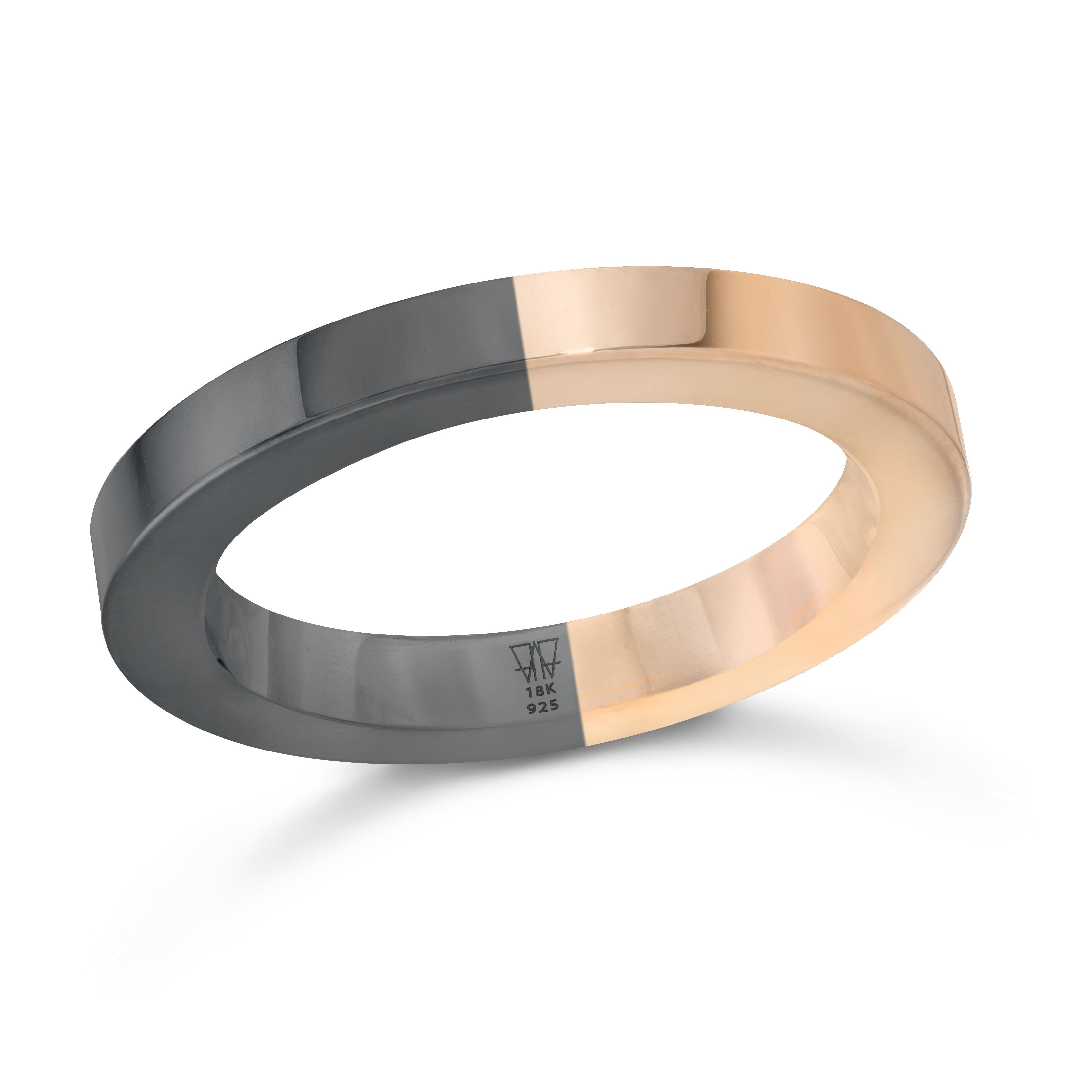 Walters Faith Grant 1.5Mm Simple Cubed Band Ring Silver HOfr17QPR