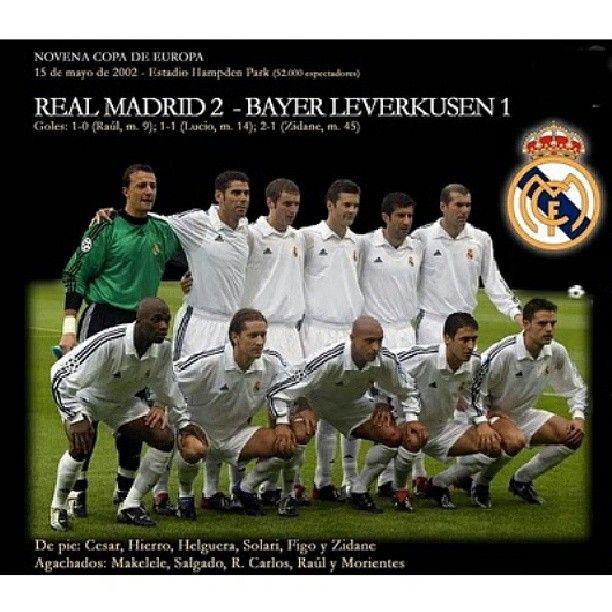 Especial Real Madrid 9 veces campeón de Europa - 9na Copa de Europa. #Padgram