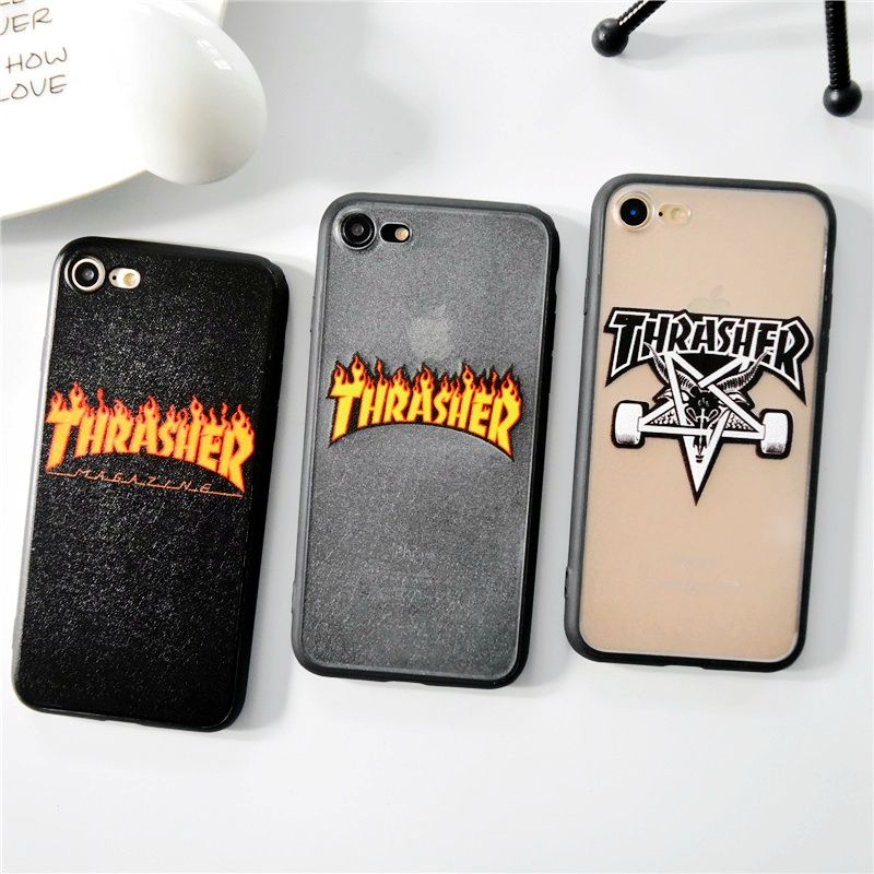 coque thrasher iphone 8