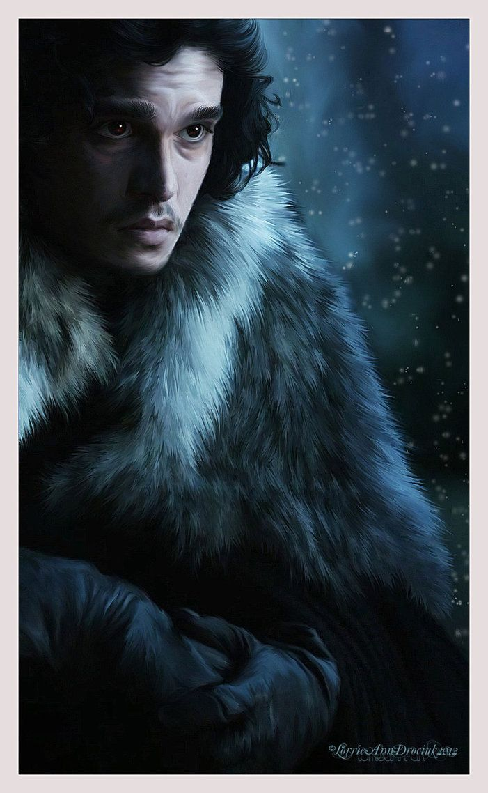 Jon Snow : Game of Thrones by RottonNymph on deviantART