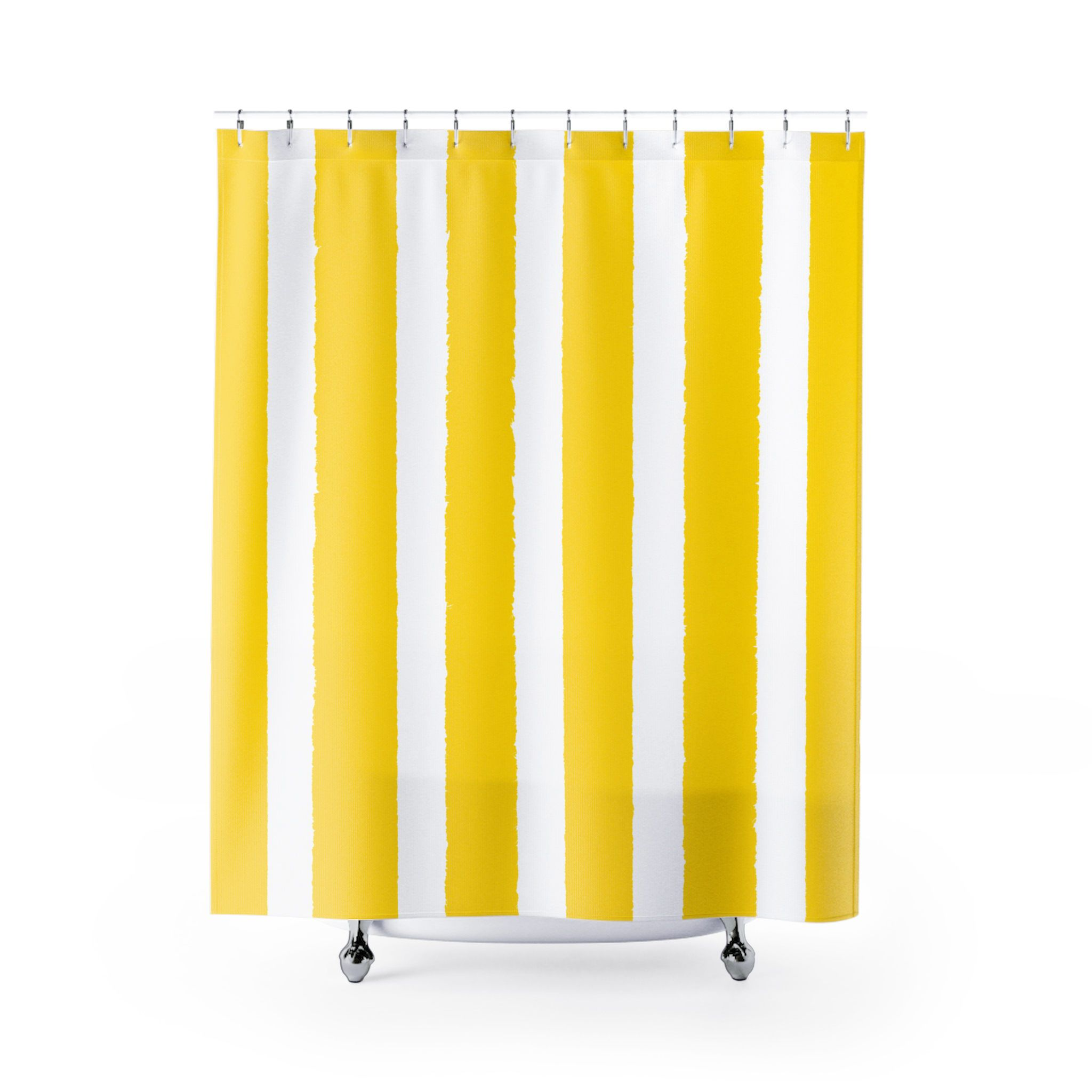 elegant ideas curtain of striped designer yellow shower lovely