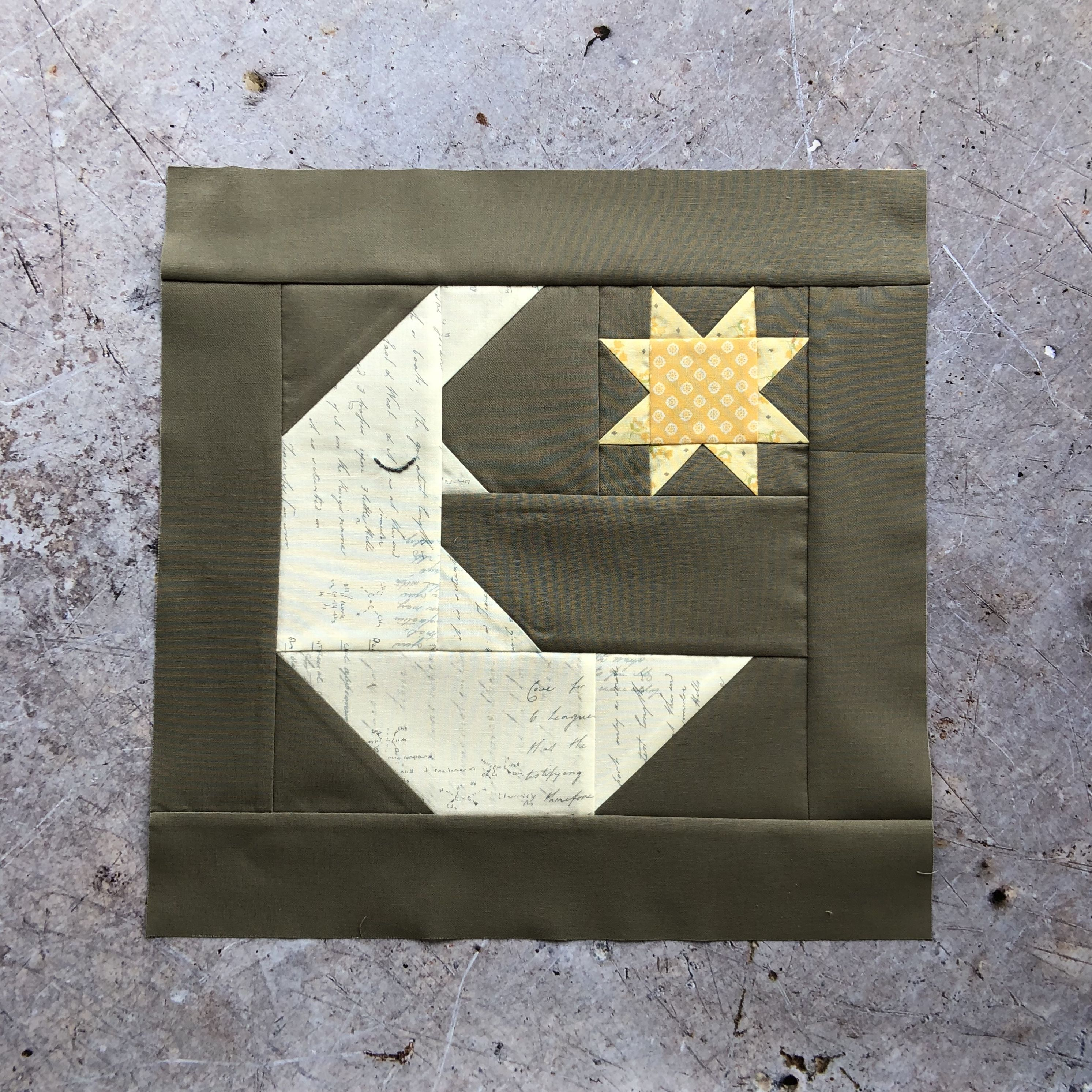 Moon and Stars by Cake Stand Quilts pattern | Quilts - Block Party 2 ...