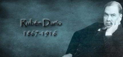 """Rubén Darío (1867-1916). Entrada """"Modernismo: Conceptualización"""" (13-09-2014), en el blog """"Littera"""". Enlace: http://litteraletra.blogspot.com.es/2014/09/modernismo-conceptualizacion.html"""