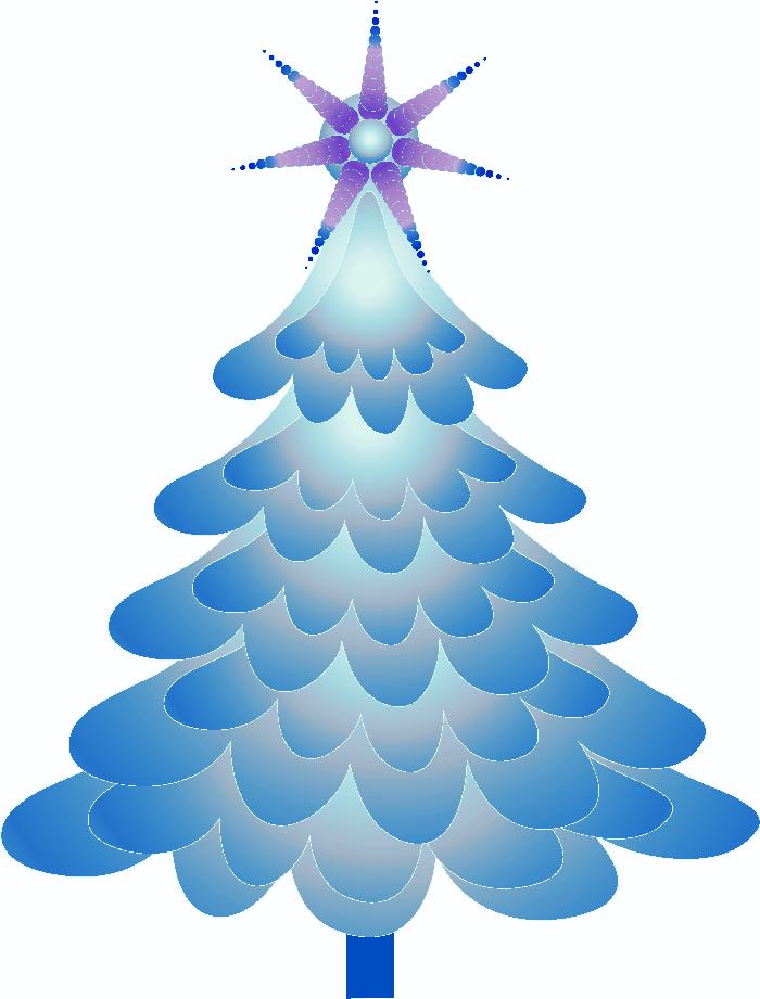 Arbol De Navidad Arboles De Navidad Navidad Color Azul Y Unas