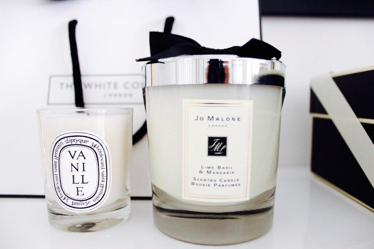 Scented candles | my favorites | Diptyque | Jo Malone