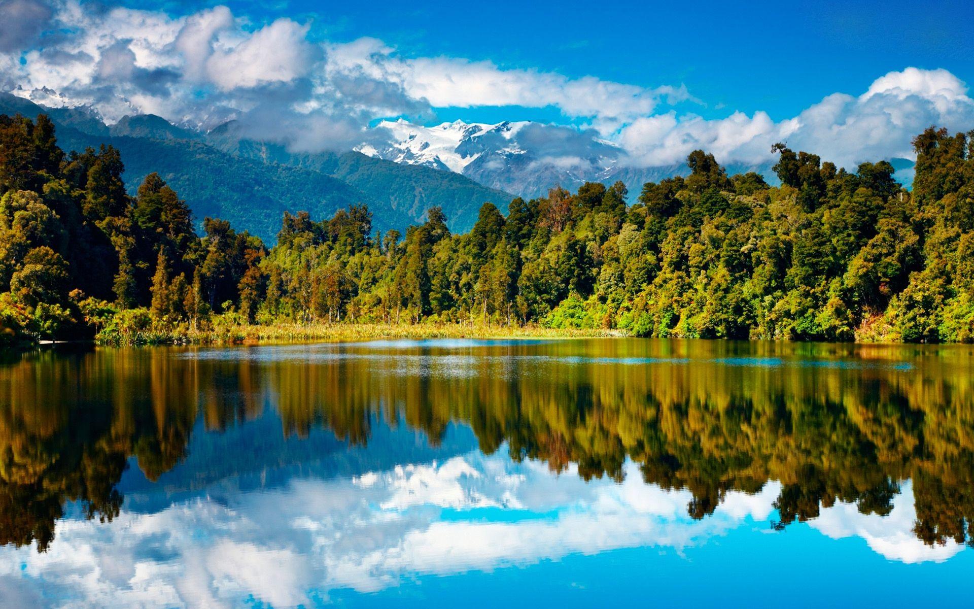 amazing lake scenery widescreen wallpaper HD dsktop laptop